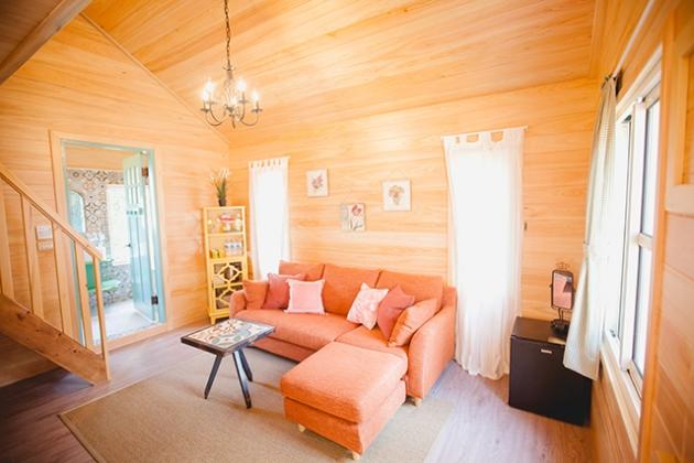 蘇維拉莊園民宿 粉紅蘑菇樹屋