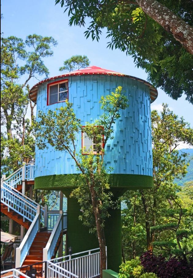 蘇維拉莊園民宿 藍色樹屋